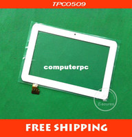 Cheap Wholesale-free shipping 7 inch touchscreen for Sanei N78 N79 Ampe A78 dual-core 3G Tablet capacitance touch screen TPC0509