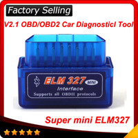 Code Reader elm 327 - 2016 Latest Version V2 Super mini elm327 Bluetooth OBDii OBD2 Wireless Mini elm Works on Android Torque In stock