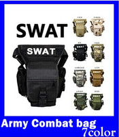 Wholesale Army Combat Travel Utility Waist Bum Bag Leg Holster Money Belt Tactical freeshipping
