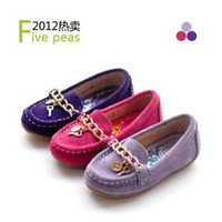 Summer Round Toe Plastic size 25-38 genuine leather children shoes girls flats family shoes mom and daughter
