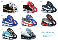 Wholesale FreeShipping Griffeys shoes New Cheap KEN GRIFF Shoe For Sale Basketball Shoes Men s Athletic Ken Griffey Jr Shoes N3072221