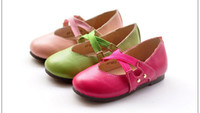 Summer Round Toe Plastic size 25-32 genuine leather family shoes most fashion