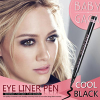 CB12001063000F Natural waterproof 2g 2014 Fashion Black Special Makeup Liquid Eyeliner Pen Black Eye Liner Pencil