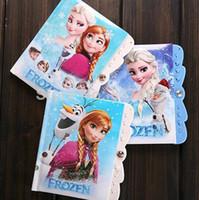 Wholesale Frozen Book frozen school supplies frozen notebooks for student frozen gift for kids cm Password notebook frozen