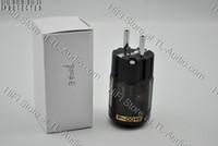 EUR power plug P004E,P-004E EUR (Schuko) Oyaide P-004E Rhodium plated EUR Schuko AC Power Plug P004E audio power connector