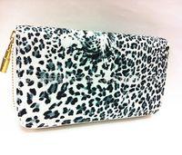 Wholesale New Design lady leopard print wallet price women s wallet female purse handbag