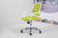 Green mesh chair office chair - 3D Mesh fabric Metal office Chair strong air fashion chair