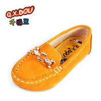 Summer Round Toe Plastic size 26-39 genuine leather children shoes girls flats family shoes mother and daughter