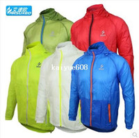 Wholesale 2014 arsuxeo Athletic brand outdoor sports men running windproof Pack cycling bike bicycle Jacket coat clothes