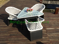 Wholesale patio white wicker furniture set wicker outdoor furniture