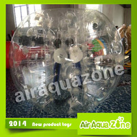 Cheap Amazing 1.2m 1.5m inflatable bumper ball,bubble football,inflatable human hamster ball