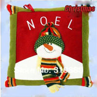 artificial christmas wreath - Christmas Ornament cm Santa plush pillow Christmas decoration cheap artificial christmas wreaths