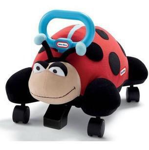 little tikes kids toys pillow racers ladybug kids travel car walker scooters