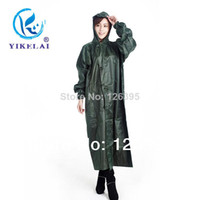 Wholesale Hundred million can direct selling to brand manufacturers supply PVC snap button long raincoat