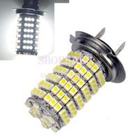 Wholesale 2PCS Super Brightness Car Auto LM LED V SMD H7 Fog Light Head Light Lamp Xenon Bulb White Color