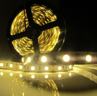 Holiday leds waterproof flexible waterproof led strip - 5M LED SMD DC V LED strip light non waterproof cool white warm white leds m LED Flexible light for home