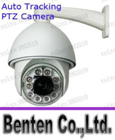 ptz auto tracking - LLFA5622 TVL SONY EFFIO CCD x Outdoor CCTV PTZ IR Camera Auto Tracking Heater Fan M IR Distance With RS