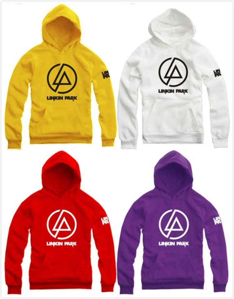 online cheap linkin park logo printed pullover unisex. Black Bedroom Furniture Sets. Home Design Ideas