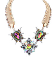 Pendant Necklaces South American Women's High Quality Women Luxury Costume Punk Chain Statement Necklaces & Pendants Choker Necklace For Women Men Jewelry S906775