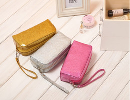 Wholesale Candy Color Makeup Bag Purse Cosmetic MP3 Mp4 Phone Storage Organizer Sundry Waterproof Bags Cosmetics Bags