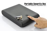 Yes OS100B USB Wholesale - Biometric handgun safe,fingerprint pistol safe,mini safe,jewelry safe,gun valut