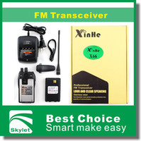 Wholesale Walkie Talkie Professional FM Transceiver Loud And Clear Speaking XinHe X Loundspeaker Dust Jacket Double Protection DHL