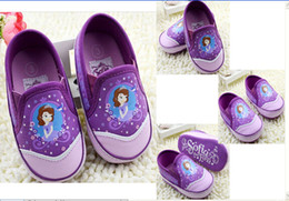 8%off!sale!Lovely!Cartoon!Sophia!Comfortable!Non-slip soft bottom baby toddler shoes!frozen elsa Anna!DROP SHIPPING!In Stock!6pairs 12pcs.TX