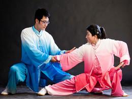 Chinese Tai chi clothing Kungfu uniform tang suit shawl outfit taolu wushu garment taiji clothes for women men boy girl children kids adults