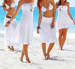 Bohemian dress New 2017 Women Summer beach dresses casual long design sexy clothing for Girl bikini worn outside the smock