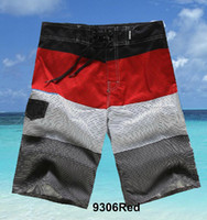 Hot Men's Board Shorts Surf Trunks Swimwear with Wax Comb Tw...