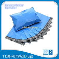 Wholesale Blue Poly Mailers Envelope Courier post shipping small mailing bags x22cm x8 inches