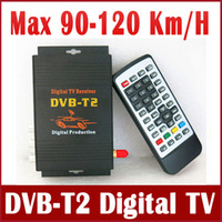 Guangdong, China (Mainland)   New 90-120Km H DVB T2 HD Car Digital TV Tuner Receiver Box DVB-T2 MPEG4 MPEG2 H.264 Mobile Digital TV for Russia, Columbia, Thailand