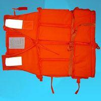 Wholesale Popular Orange Prevention Flood Foam Swimming Life Jacket Vest Whistle for Adult