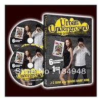 Wholesale URBAN UNDERGROUND by J C Sum magic teaching video send via email close up magic