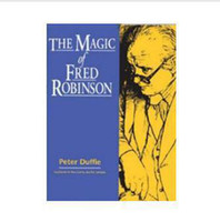 Wholesale Peter Duffie The Magic of Fred Robinson Only PDF ebook Card magic magic tricks