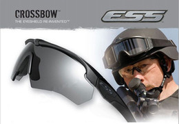 Wholesale ESS Crossbow Brand new Hig US military tactical goggles tactical ballistic shooting glasses outdoors UV Sunglasses