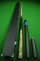 Wholesale Handmade Brown Ebony Butt Ash Shaft Snooker Cue With Free Case Extension Mini Butt
