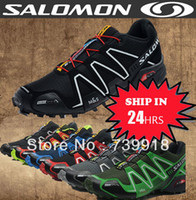 Wholesale 40 Colors SOLOMON Men Zapatillas SpeedCross III Men Solomon Sneaker Size Available