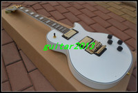 Wholesale Chinese Guitar New Arrival White floyd vibrato Custom Electric Guitar High Cheap