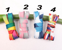Rainbow flag printed Flat Shoe Lace Shoelace Strings for Sne...
