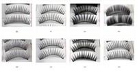 Wholesale Beautiful Make Up Mixed Style Black false eyelashes