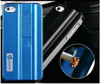 Wholesale Hard Protective Cigarette Lighter Smoking Gadget Cell Phone Case Cover Fire Case With Retail Package For iphone S S