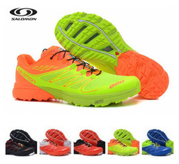Wholesale 2014 New Shoes Men s Salomon Athletic Running Sports Man Brand Shoes Outdoor Solomon Trail Racing Sports Shoes