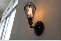 metal wall decor - Reversible Indoor Edison Wall Lamps coffee house Bar Decor Light Retro Metal wall light E27 Bulb V
