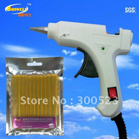 Wholesale 2 in EU plug watt Decorations Use Hot melt glue gun Contain bag keratin glue stick