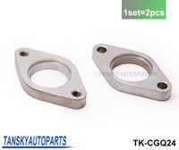 TK-CGQ24 steel flange - High Quality mm Weld Wastegate Tapped Flange Stainless Steel Fit For Tail TK CGQ24 Have In Stock