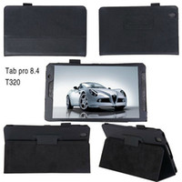 auto pen holder - 2 Fold Stand Folio Leather Smart Cover With Pen Holder Auto Sleep Wake UP Flip Case for Samsung GALAXY Tab Tab4 T330 Pro inch T320