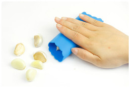 Wholesale - Silicone Garlic Peeler,Creative home furnishing,Kitchen supplies,Kitchen peeling tool,Convenient and practical