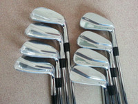 Wholesale 2014 New MP Forged Iron Set Golf Clubs PW Regular Stiff Steel Shaft Come With Head Cover