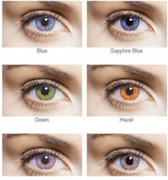 Wholesale 12 colors Contact lenses lens crazy lens Color Contact Tones colors pairs hot selling pairs